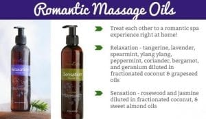 sensation-massage oils