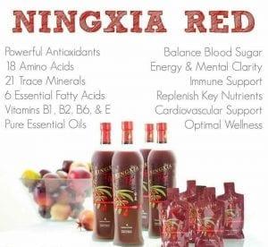 Ningxa-Juice Ingredients