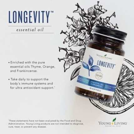 longevity softgels
