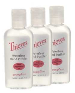 Thieves Waterless Hand Purifier 3 pack