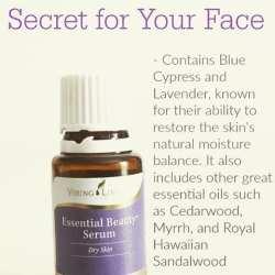 beauty serum- for dry skin