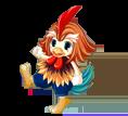 Die Huhn-Spezialistenkarte