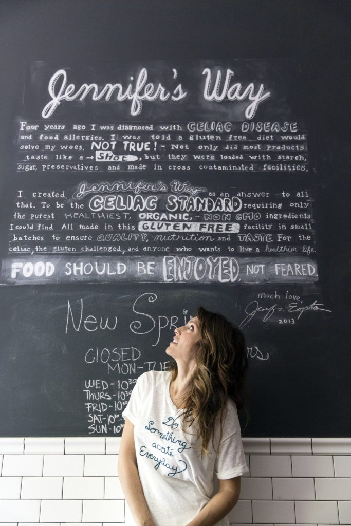 Have It Jennifer's Way: A Tasty Trip to Actress Jennifer Esposito's Gluten-Free, Dairy-Free, NYC Bakery