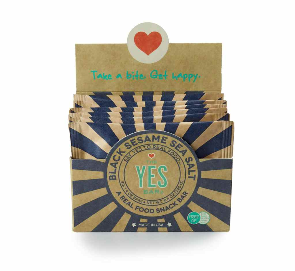 Product Review: The YES Bar Black Sesame Sea Salt