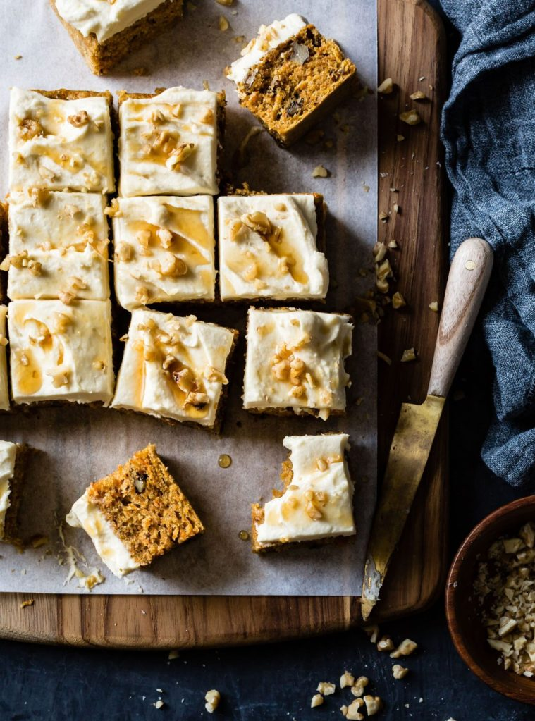 Gluten-Free Carrot Cake with Maple Cream Cheese Frosting Recipe