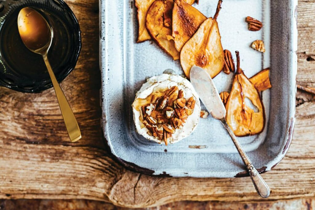 Maple-Spiced Pear Chips Recipe