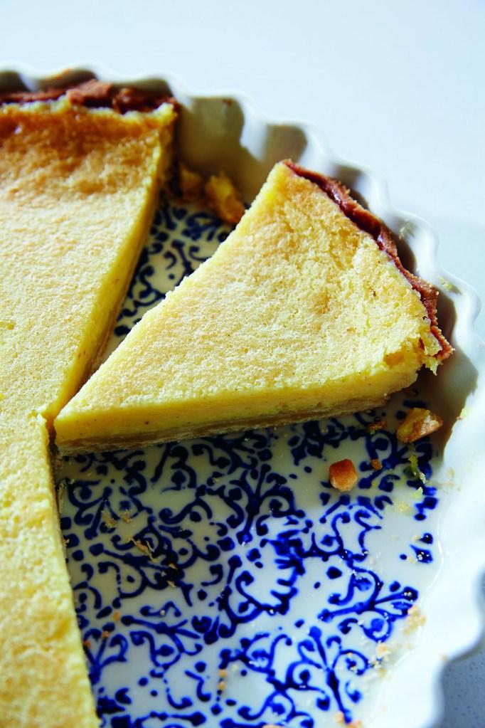 Whole Meyer Lemon Gluten-Free Tart