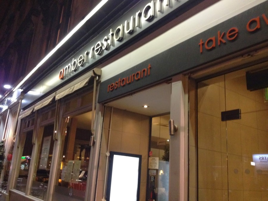 The Amber Chinese Restaurant Glasgow Review