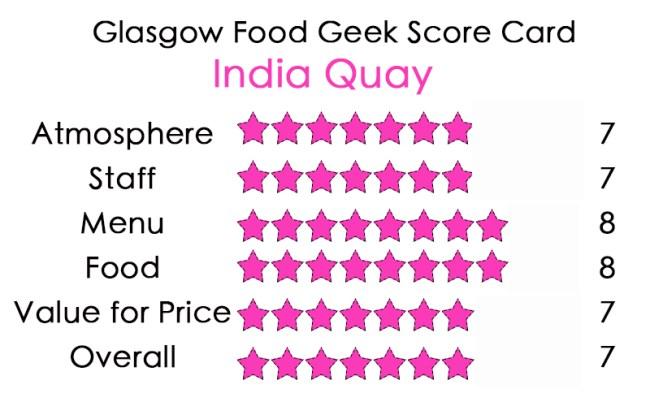 India Quay Glasgow Review