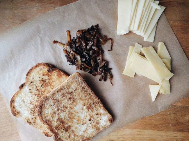 French Melt Grilled Cheese Recipe
