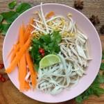 Vietnamese Chicken Noodle Soup (Pho Ga) {gluten free}