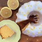 Lemon Pound Cake {gluten free}