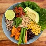 Slow Cooker Chicken Burrito Bowls {gluten free}