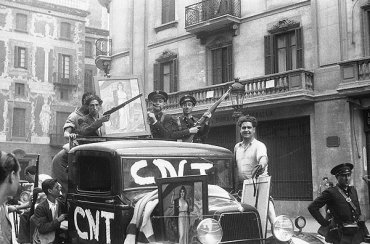 Militantes de la CNT