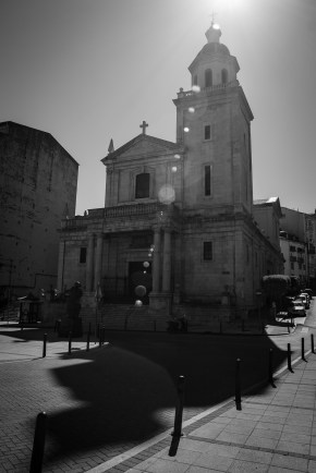 Uau, una iglesia en Santander.