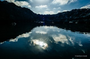 Un lago, sí, un lago de verdad. Y de agua salada.