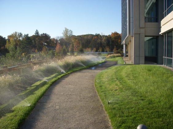 office park path