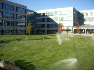 office park front