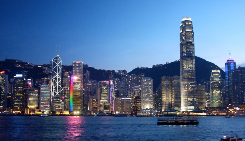 Hong Kong skyline - one place GFM Asset Management looks when investing in the world's most profitable companies