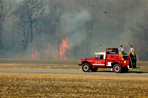 Wilson And Nash County Firefighters Battle Weekend Fires