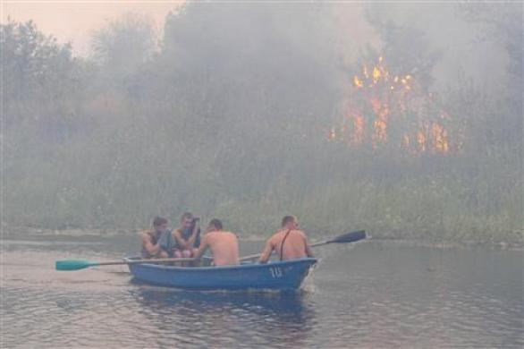 Heat Damage To Russia Crop Past Worst, Official Says Photo: Vladimir Lavrov
