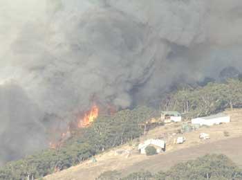 SA blaze hurts five, destroys home