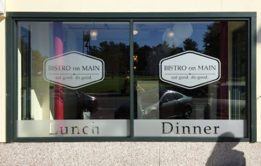 Etched Window Vinyl in Manchester, CT