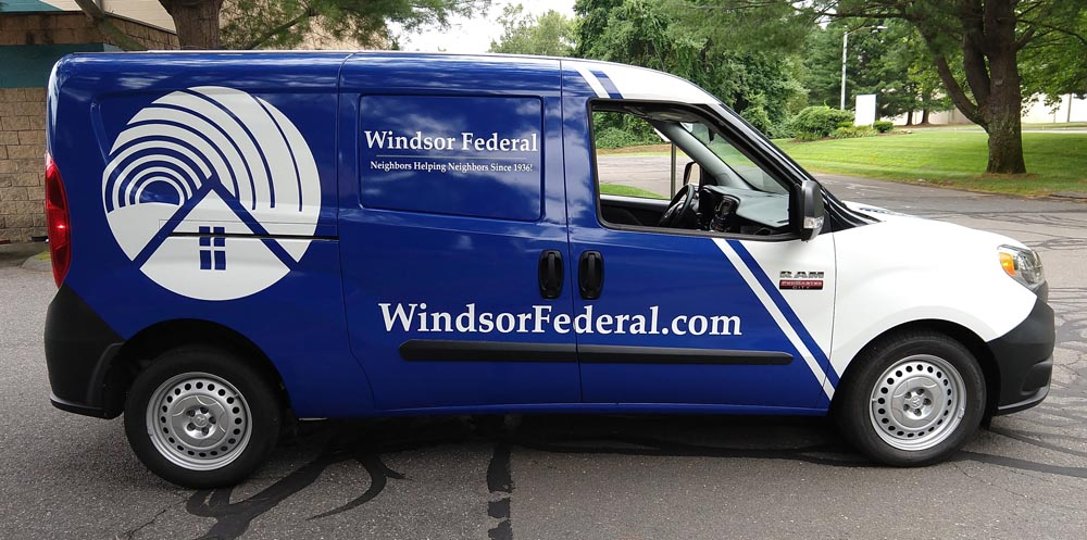 Vehicle Wrap in Windsor, CT