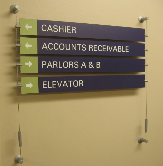 Directory And Wayfinding Signs South Windsor CT