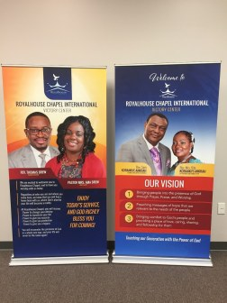 church retractable banner stands in South Windsor CT