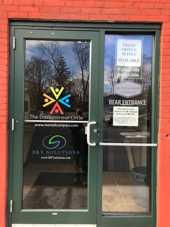 Frosted Window Graphics, South Windsor, CT