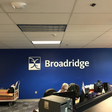 Interior Dimensional Lettering, Manchester CT