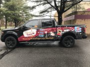 Commercial Vehicle Wrap in Hartford CT