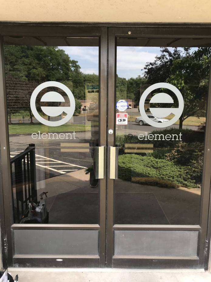 Frosted Window Graphics in South Windsor, CT