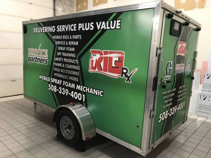 Trailer Wrap in South Windsor, CT