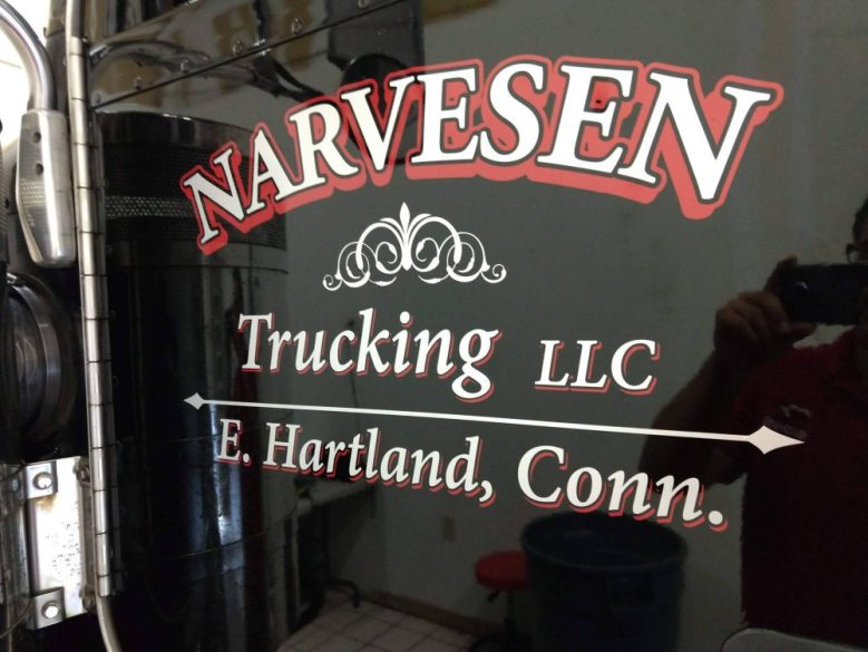 Vehicle Lettering in East Hartland, CT