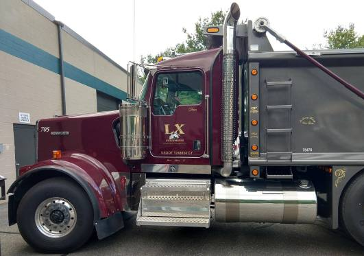 Commercial vehicle lettering in Hartford, CT