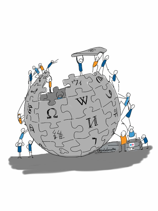 People building wikipedia
