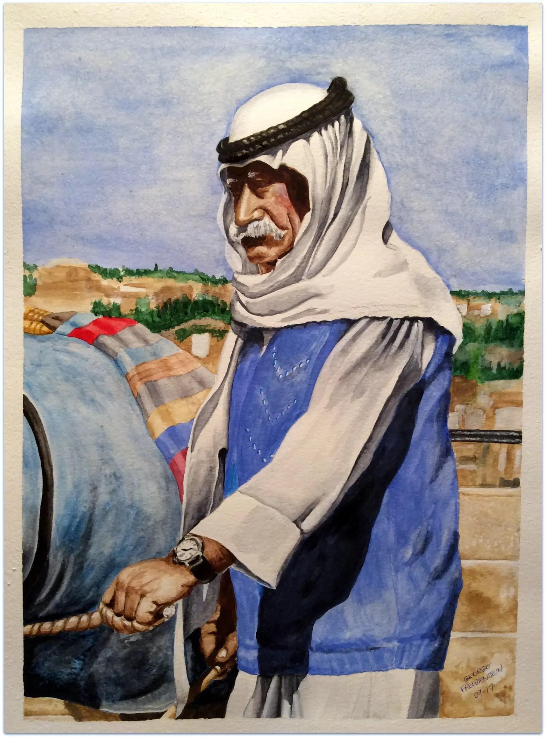 SON OF THE DESERT (Mount of Olives)