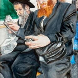ON THE BUS - PAST & PRESENT (Jerusalem)