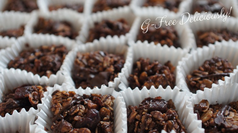 Maple Walnut Granola Bites