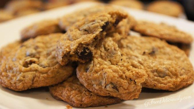 Gluten-Free Retake on America's lassic Chocolate Chip Cookies