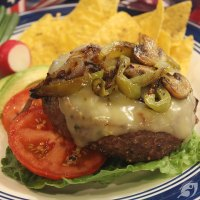 Grilled & Filled Wisconsin Cheesy Goodie Burgers