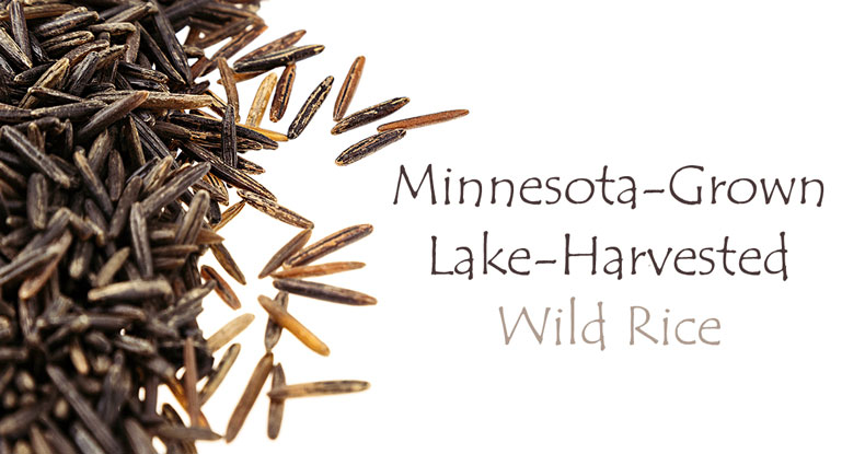 Minnesota Grown Lake-Harvested Wild Rice