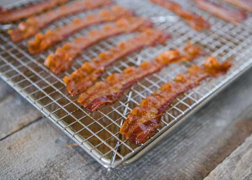 how to oven bake bacon
