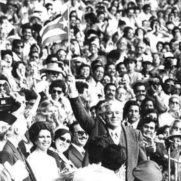 Image result for Romero Barcelo hace campaña por Jimmy Carter en 1980
