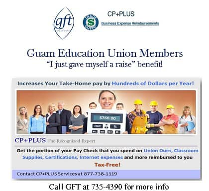 ATTN GDOE UNION MEMBERS: Increase your take-home pay and get your cell phone bill, home internet bill, classroom supplies, certifications and more reimbursed to you tax-free!