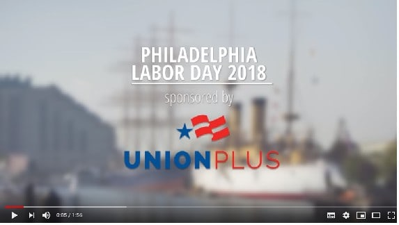 TELL THE WORLD YOU'RE STICKING WITH YOUR UNION!
