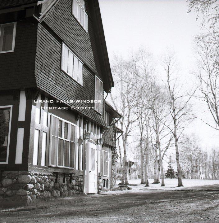 Grand Falls House October 1958