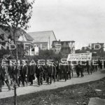 Labour Day Parade on High Street. September 1915
